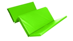 Foldable Double Mat (4 Fold) 8ft X 4ft X 50mm Green