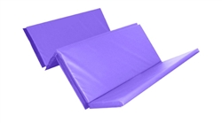 Foldable Double Mat (4 Fold) 8ft X 4ft X 50mm Purple