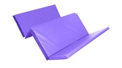 Foldable Double Mat (4 Fold) 8ft X 4ft X 50mm Purple