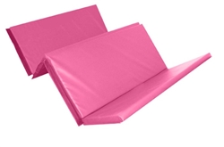 Foldable Double Mat (4 Fold) 8ft X 4ft X 50mm Pink